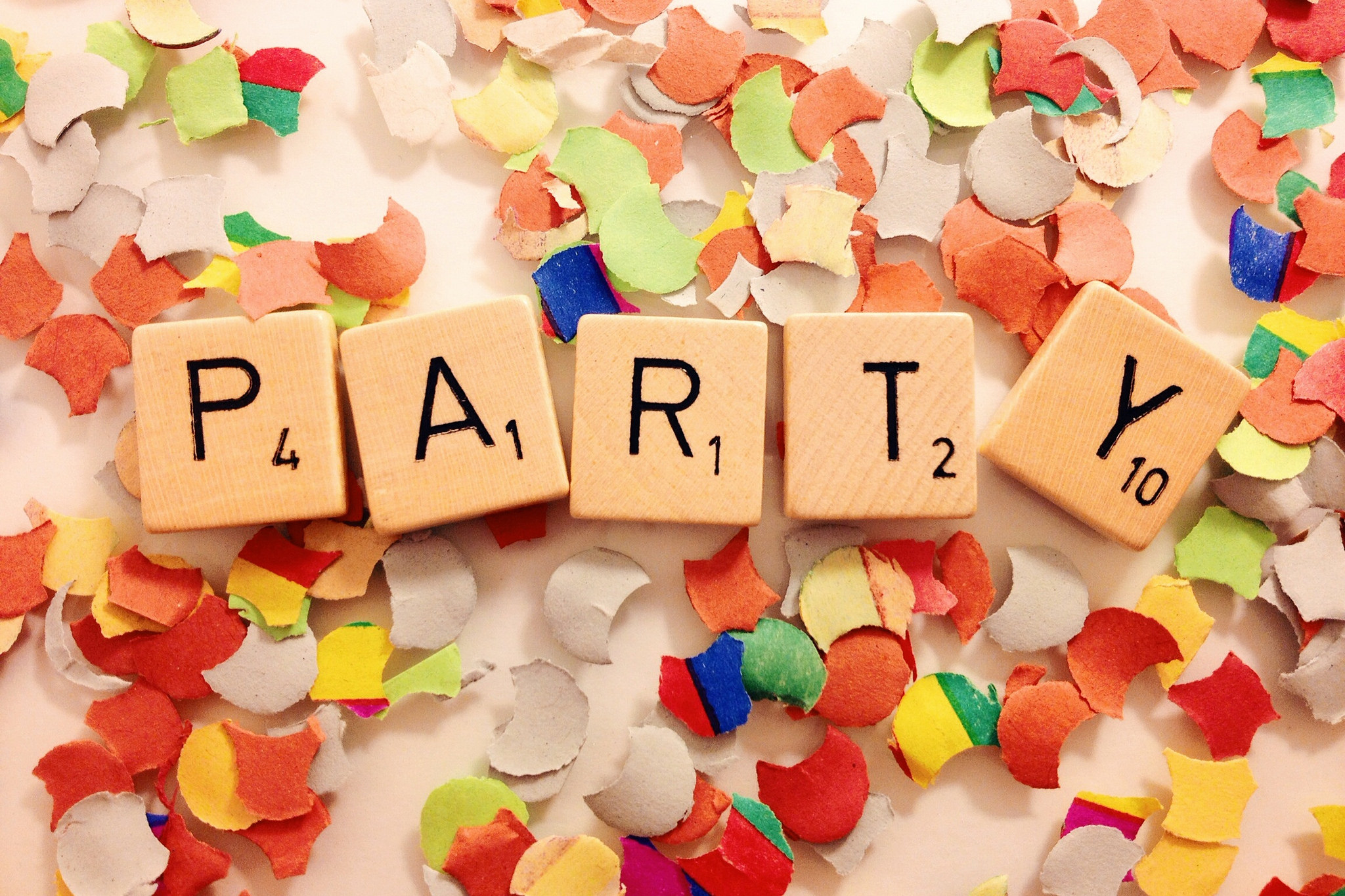 Scrabble Party for Scholarships