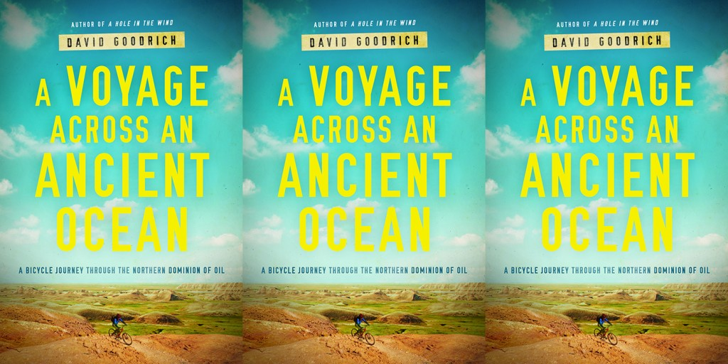A Voyage Across an Ancient Ocean by David Goodrich