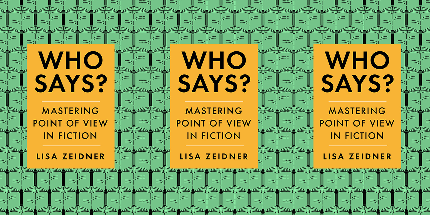 Who Says? by Lisa Zeidner